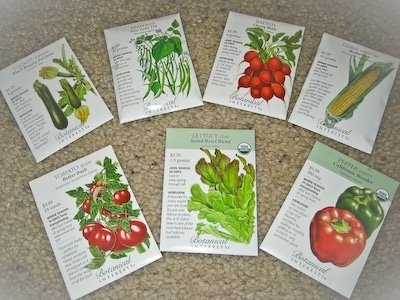 Basic Bounty Veggie Garden Seed Collection