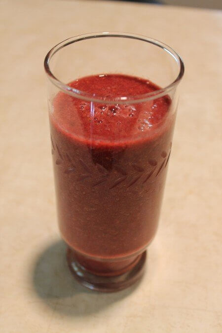 Beet Green and Fruit Smoothie