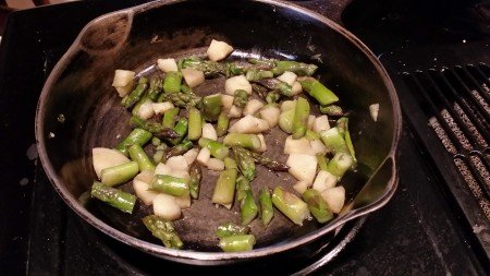 Asparagus and Parsnips