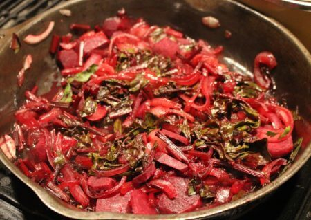 Balsamic Sautéed Beet Side Dish