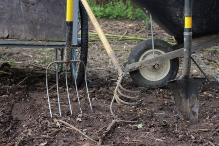 Compost Pile Tools